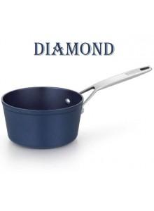 Padažinė - prikaistuvas Ø 16 cm, 1,1 L, indukcinis, su plienine rankena, DIAMOND, MONIX® (Ispanija)