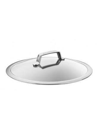 Dangtis Ø 30 cm, grūdinto stiklo su plieniniu apvadu, TechnIQ, SCANPAN (Danija)