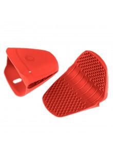 Silikoninės apsaugos rankoms / puodkėlės, 2 vnt., raudonos, KOCHBLUME® (Vokietija)