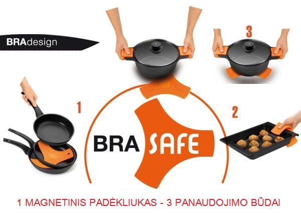 BRA SAFE padėkliukas
